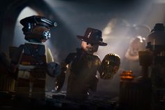 Dramatic LEGO Recreations of Star Wars and Indiana Jones - My Modern Metropolis