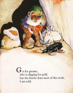 """""""G is for Gnome"""""""