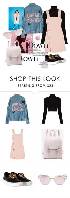 """""""Waiting for South Korea"""" by giorgiamecugni ❤ liked on Polyvore featuring By Terry, Cool Change, A.L.C., Marni, Versace and Le Specs"""