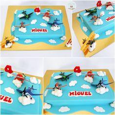 Disney Movie Airplanes Cake ( a crop hopper cake) Rudy would flip!!