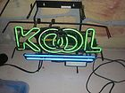 Vintage Kool (Cigarettes) Neon Wall Sign (1994) - 1994, Cigarettes, kool, Neon, Sign, Vintage, wall