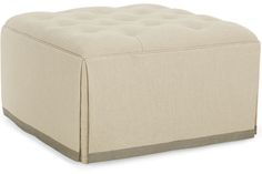 CR Laine Ottoman: 1146 (Square Ottoman). Available for purchase, now, through LG Interiors!