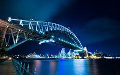 Sydney Harbour Bridge, Sydney Australia. LIVE IT WITH JUMP! Source Unknown