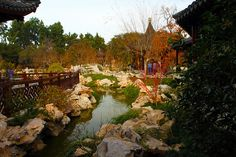 Chinese Garden  by John Dullaghan, via Flickr