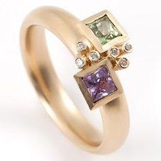 Piece item                   Square bud ring