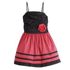 Jessica McClintock Colorblock Dress - Girls 7-16