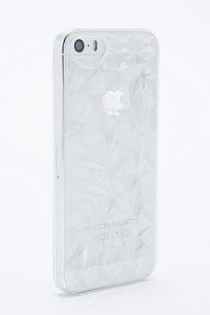 Coque iPhone 5 transparente motif prismes #UrbanOutfitters #Price:€17