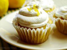 Sunny Lemon Cupcakes - Vegan and Gluten Free