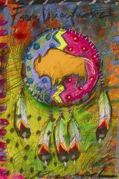 Morning Stars KWC American Indian Tribal Blue Baby Toddler Leg Warmer