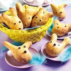 Heerlijke Paashaasbroodjes. Leuk om samen met de kinderen te maken.