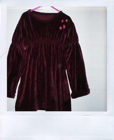 A dress made from an old shirt