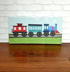 Railroad  Canvas Wall Art by VickyBaroneDesigns on Etsy, $99.00