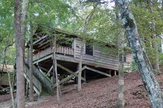 Riverfront cabin at Beavers Bend State Park in SE Oklahoma