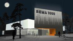 Rema 1000, Trondheim Norway (2013) | Snøhetta