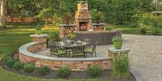 Image result for sunken patio