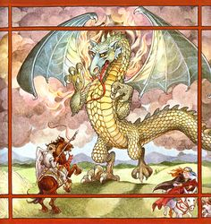from Trina Schart Hyman's St. George and the Dragon Wow - pinned this from Anne Murphy's board - she has great tastes of illustrations and everything else on her board - a fun person to follow!