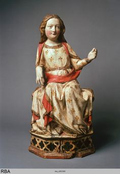 Thronende Muttergottes, 1351/1400, Holz   Köln, Museum Schnütgen