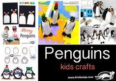 Penguines - kids crafts
