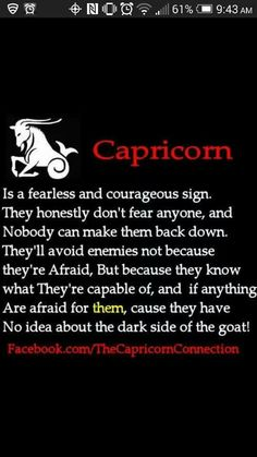 Capricorn- so true Zodiac Capricorn, All About Capricorn, Capricorn Quotes, Capricorn Facts, Capricorn And Aquarius, My Zodiac Sign, Zodiac Facts, Capricorn Lover, Capricorn Compatibility