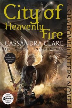 Nueva portada - City of Heavenly Fire de Cassandra Clare - Serie Cazadores de Sombras