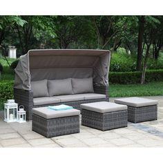 belvedere lounge 3-sitzer zebra möbel | gartenmöbel | pinterest, Gartenmöbel