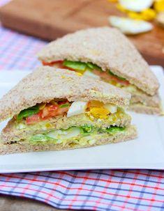 Club sandwich anglais - Bikini et Gourmandise
