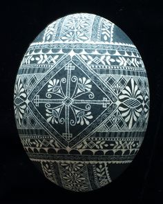 Black and White | Eggs by Teresa
