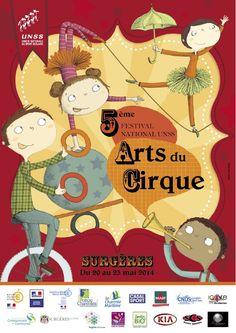 Le Festival des arts du cirque UNSS. Du 20 au 23 mai 2014 à surgeres.