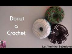 Donut a ganchillo/crochet - YouTube