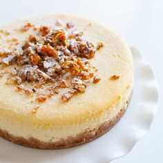 Classic baked cheesecake - The food fox