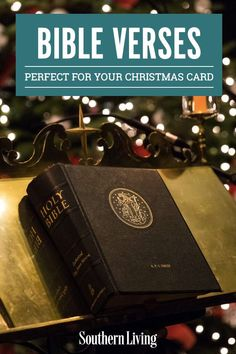 The holiday season is the perfect time to express your faith, and Christmas Bible verses are beautiful, uplifting, and heartfelt! If you're searching for the perfect Christmas verses for holiday cards, look no further. We've compiled a list of some of the best ones. #christmascard #bibleverse #christmasquotes #southernliving Old Time Christmas, Beautiful Christmas Cards, Merry Little Christmas, Christmas Photo Cards, Christmas Images, Holiday Cards, Christmas Holidays, Christmas Ideas, Happy Holidays