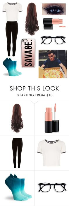 """Pizza with Grayson Dolan"" by annamendes07 ❤ liked on Polyvore featuring Dolan, MAC Cosmetics, River Island, Topshop, Pointe Studio and Casetify"