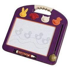 Preschool and Kindergarten 145938: B. Toulouse Laptrec Magnetic Drawing Board - Plum Purple -** -> BUY IT NOW ONLY: $34.99 on eBay!
