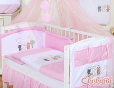 Pink bedding set / Bobono