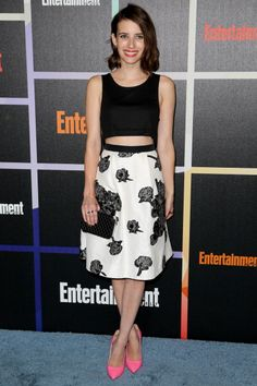 Actress Emma Roberts arrives at Entertainment Weekly's Annual Comic