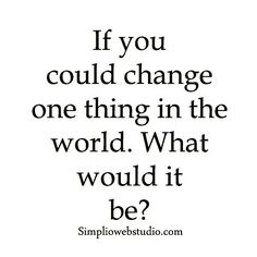 What would it be?