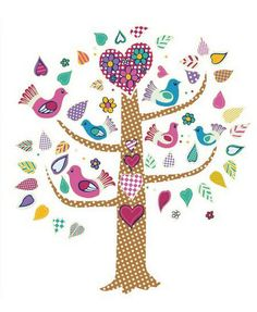 Stick Ups Wall Art Kids Room Wall Stickers, Wall Decals, Wall Art, Removable Wall Stickers, Flower Bird, Bird Tree, Rooms Home Decor, Wow Products, Diy Flowers