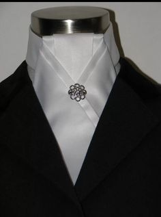 Stock tie, cleanly pressed