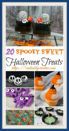 Halloween Party Treats for your lil Goblins and Ghouls! Pumpkin Cupcakes, Monster Fingers, Spider Pretzels, Candy Corn Milk Shakes that will have you shivering with fun! Halloween Party Treats, Halloween Class Party, Halloween Town, Easy Halloween, Fast Dessert Recipes, Easy Desserts, Pumpkin Images, Milk Shakes, Pumpkin Cupcakes