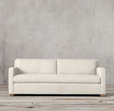 Restoration Hardware Petite Belgian Track Arm Sofa - available in 6' or 7'