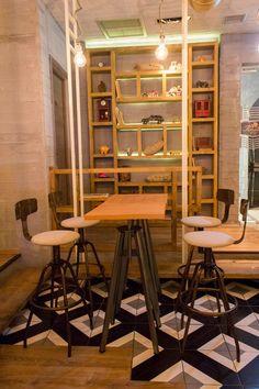 #interior #design #EpilisisStudio #industrial #cafe