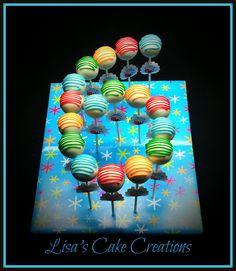 6th Birthday Cake Pops