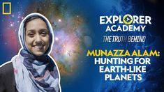 Nat Geo explorer Munazza Alam is an astronomer on a mission: to find the next Earth. She uses giant telescopes to search for signs of hidden planets. Learn more about the science behind #ExplorerAcademy!