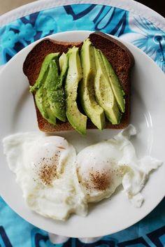 Avocado Toast and Sunny Eggs