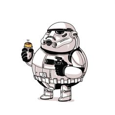 The Famous Chunkies:  Storm Trooper by Alex Solis