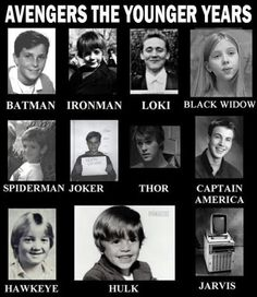 Avengers the younger years