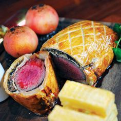 Beef Wellington with Haggis from The Grill Room on the Square