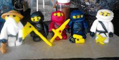 Lego ninjago figures for Vlada