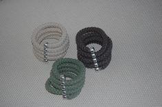 Βραχιόλια Με Πλεγμένο Βαμβακερό Κορδόνι 1 cm σε Μεταλλικό Στοιχείο. Handmade Bracelets, Jewelry Bracelets, Hands, Earrings, Ear Rings, Stud Earrings, Ear Jewelry, Homemade Bracelets, Hoop Earrings