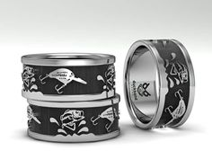 Bass and crank bait ring. Custom made to order www.duckbandbrand.com.